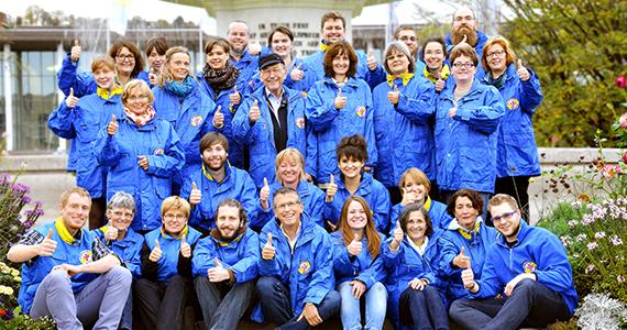 Bahnhofsmission Team – Mitarbeiter, Helfer und Ehrenamtliche