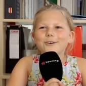 Kinder erklären die Bahnhofsmission