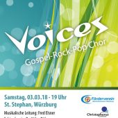 Benefizkonzert mit Voices