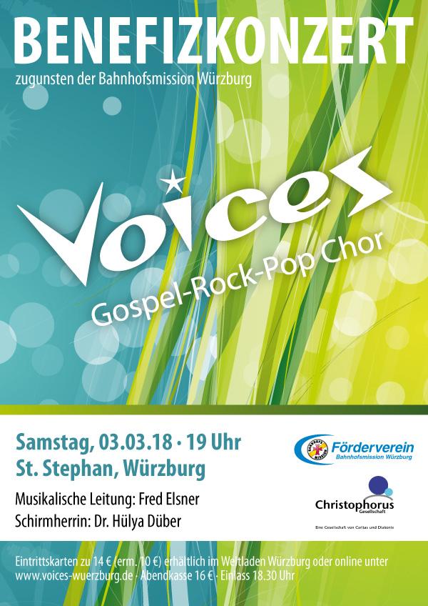 Kirchnkonzert mit Gospelchor Voices