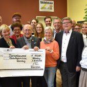 Spendenübergabe: 40.000 Euro für die Bahnhofsmission