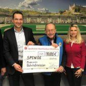 10.000 Euro Spende für den Nachtdienst